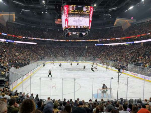 T-Mobile Arena, section: 20, row: M, seat: 10