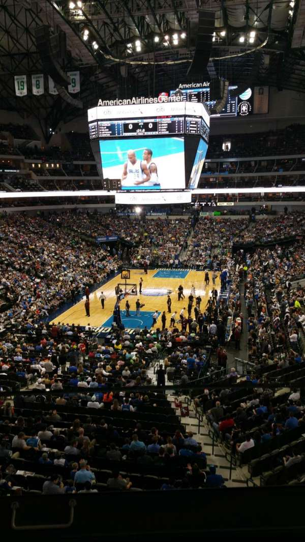 American Airlines Center, section: 225, row: A, seat: 2