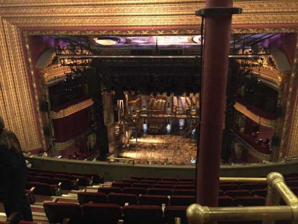 CIBC Theatre, section: Balcony RC, row: K, seat: 408