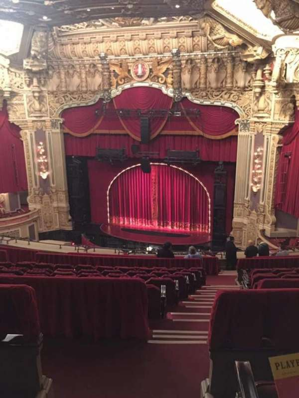 Oriental Theatre, section: Balcony R, row: O, seat: 350