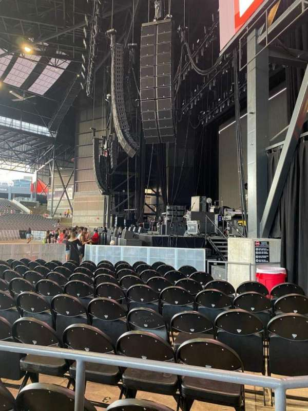 American Family Insurance Amphitheater, section: 101, row: DD, seat: 4
