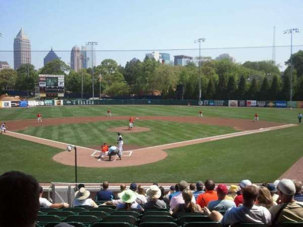 Russ Chandler Stadium, section: 3, seat: 10