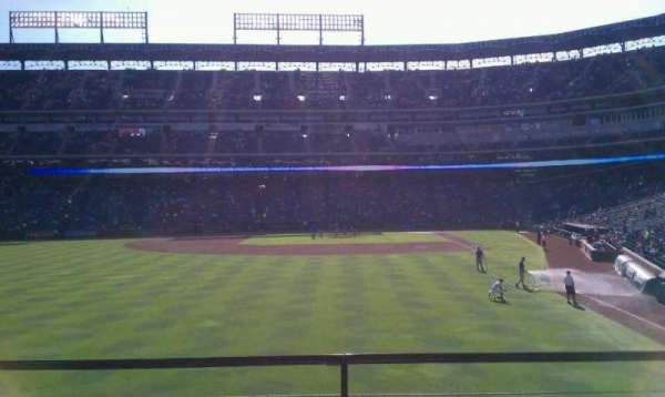 Globe Life Park in Arlington, section: 7, row: 3, seat: 7