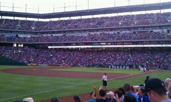 Globe Life Park in Arlington, section: 14, row: 6, seat: 13