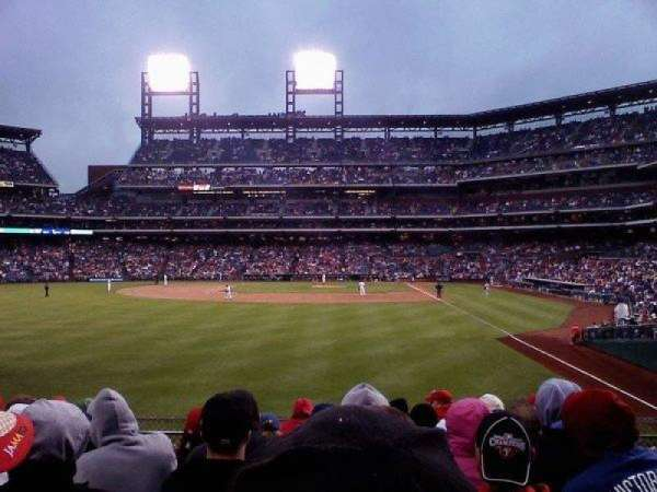 Citizens Bank Park, section: 142