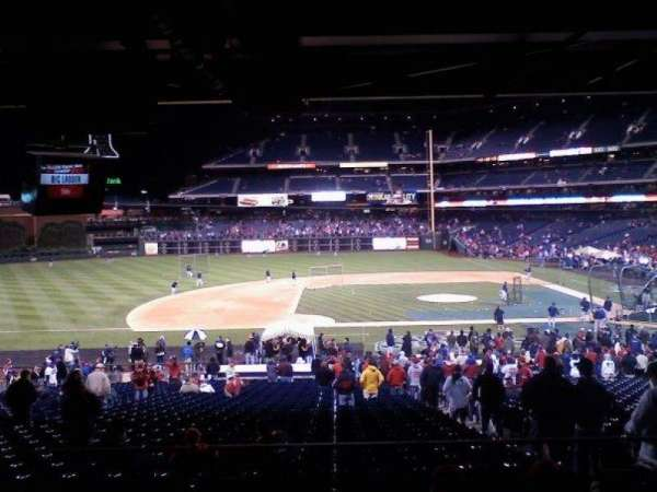 Citizens Bank Park, section: 131, row: SRO