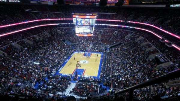 Wells Fargo Center, section: 207A, row: 15, seat: 22
