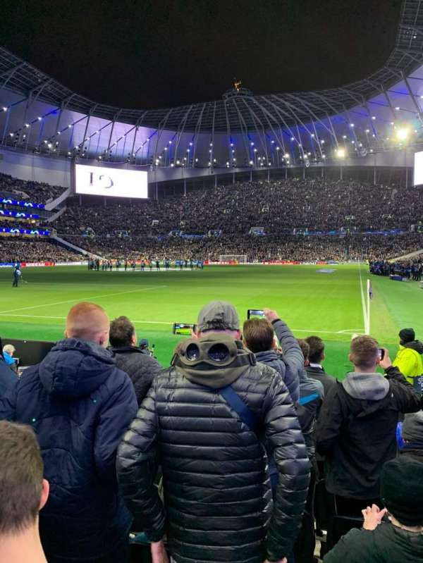 Tottenham Hotspur Stadium, section: 110, row: 7, seat: 300