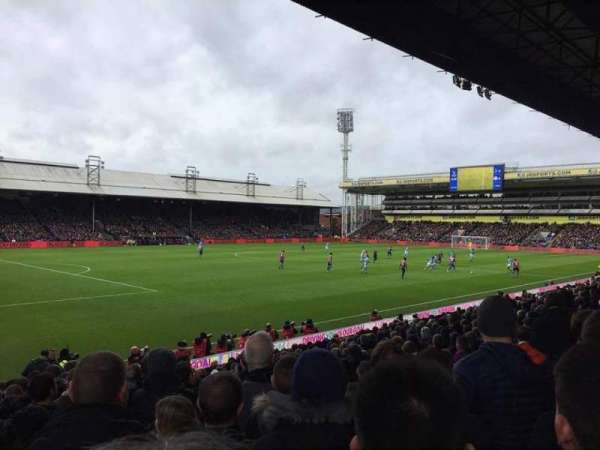 Selhurst Park, section: Arthur Wait Stand Z, row: 17, seat: 238