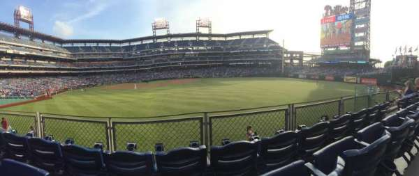 Citizens Bank Park, section: 104, row: 3, seat: 8