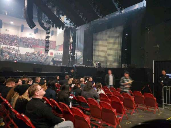 Pechanga Arena, section: LL11, row: 1, seat: 7,8