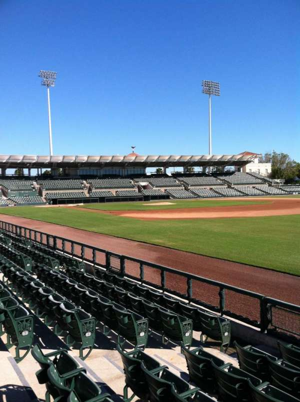 Ed Smith Stadium, section: 101, row: 6, seat: 7