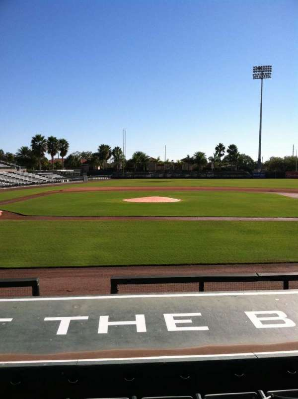 Ed Smith Stadium, section: 109, row: 8, seat: 6