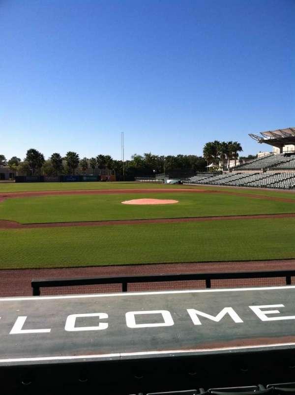 Ed Smith Stadium, section: 118, row: 9, seat: 5