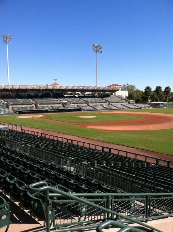 Ed Smith Stadium, section: 201, row: 7, seat: 3