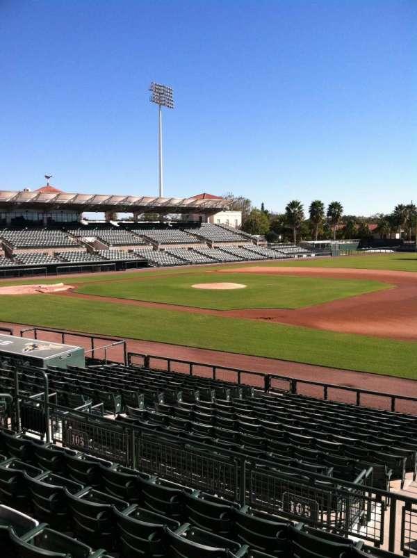 Ed Smith Stadium, section: 205, row: 7, seat: 12