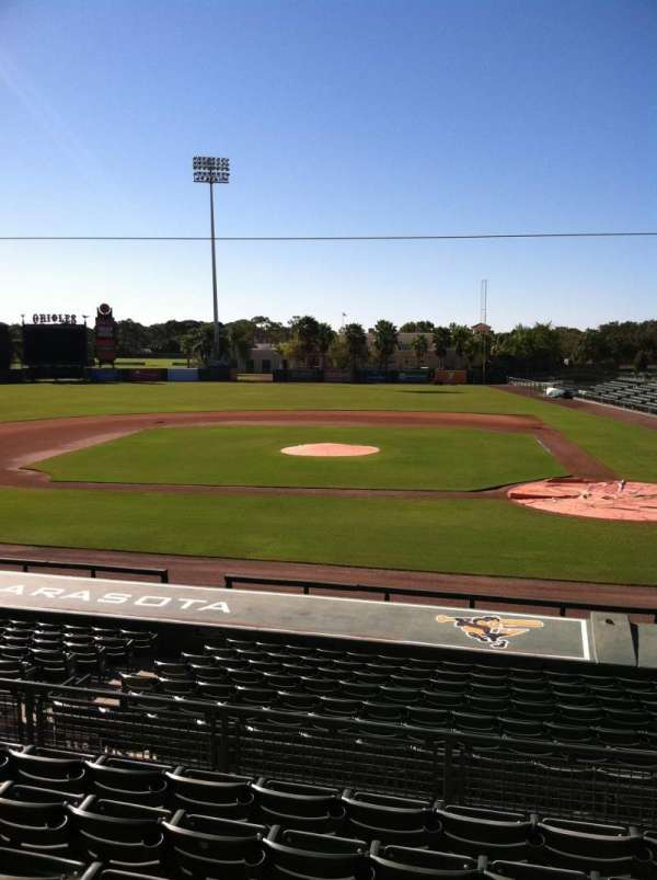 Ed Smith Stadium, section: 216, row: 7, seat: 12
