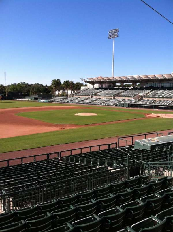 Ed Smith Stadium, section: 221, row: 7, seat: 12