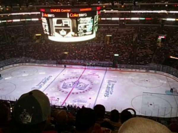 Staples Center, section: 317, row: 7, seat: 2
