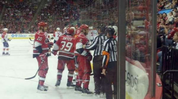 PNC Arena, section: 120, row: B, seat: 1