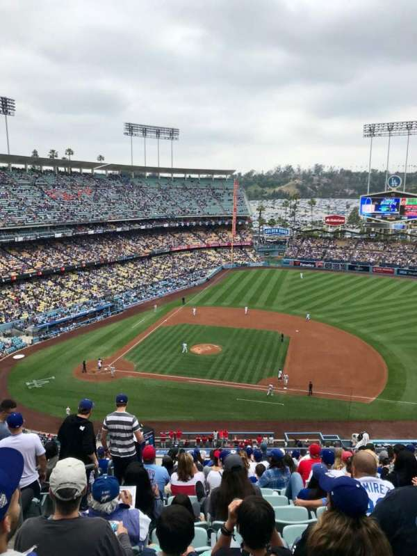 Dodger Stadium, section: 20RS, row: S, seat: 2