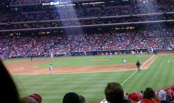Citizens Bank Park, section: 140, row: 17, seat: 6