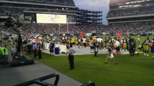 Lincoln Financial Field, section: 123, row: 1, seat: 7