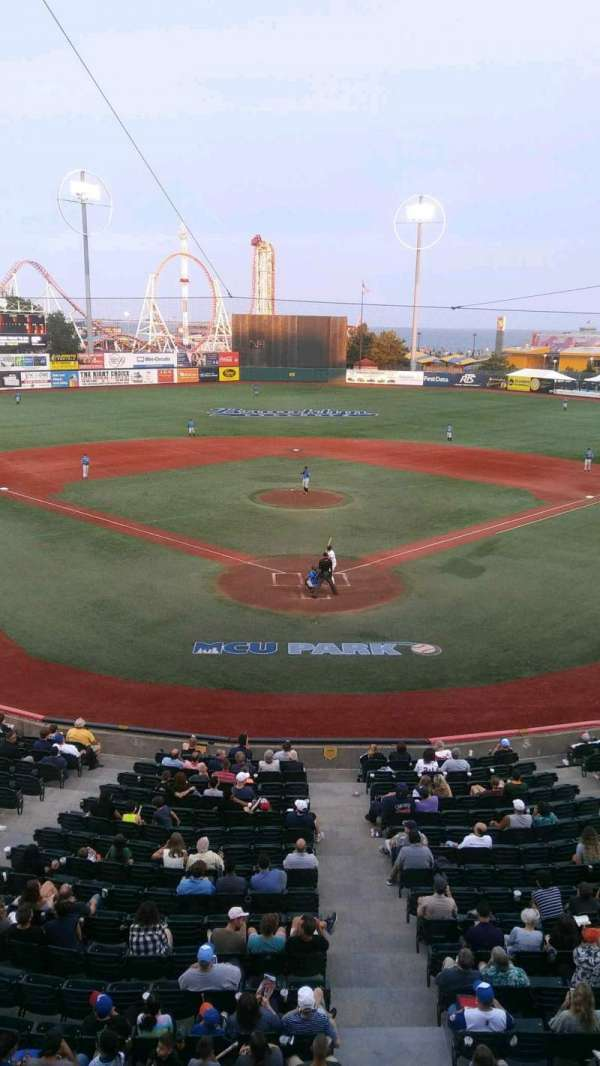 MCU Park, section: 304, row: 2, seat: 2