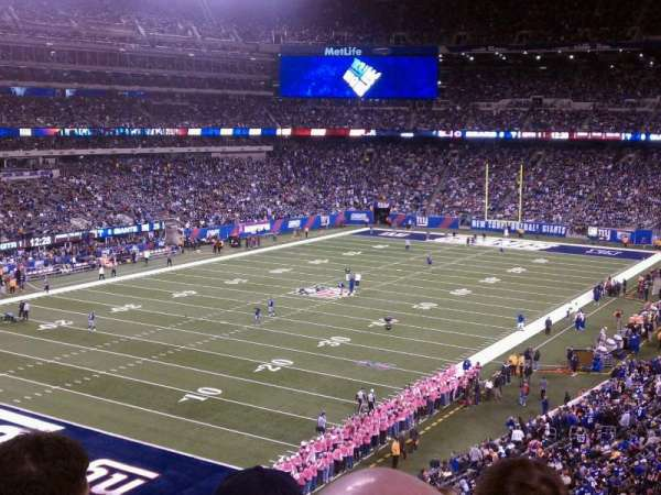 MetLife Stadium, section: 246A, row: 6, seat: 11