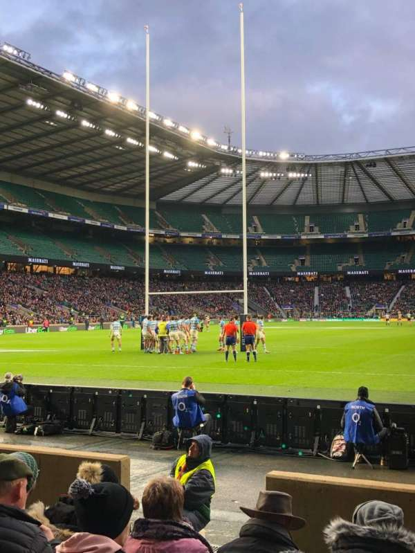 Twickenham Stadium, section: L14, row: 6, seat: 95
