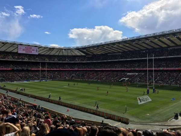 Twickenham Stadium, section: L20, row: 37, seat: 31
