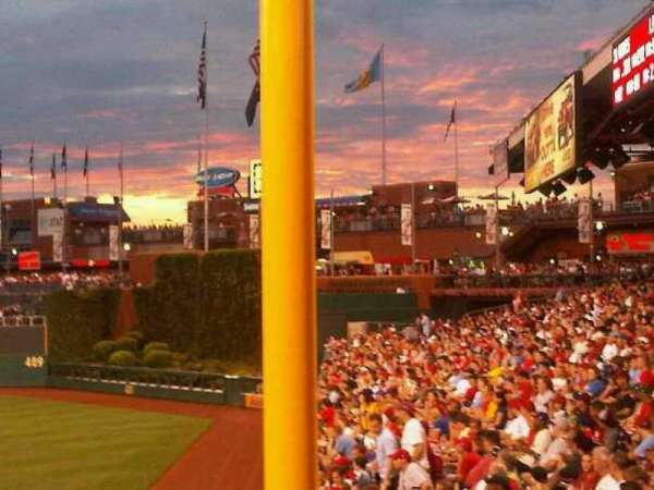 Citizens Bank Park, section: 206, row: 1, seat: 20