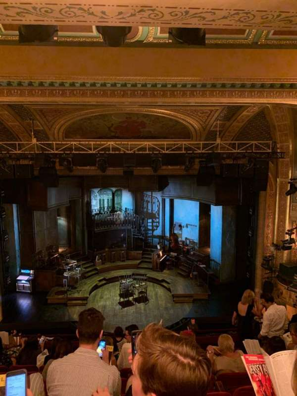 Walter Kerr Theatre, section: Mezzanine R, row: H, seat: 15