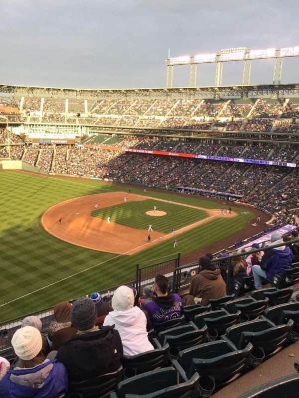 Coors Field, section: L345, row: 7, seat: 9