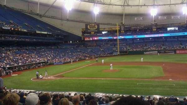 Tropicana Field, section: 116, row: GG, seat: 9