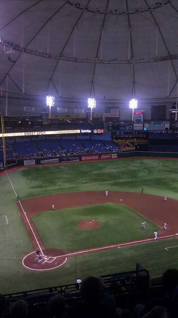 Tropicana Field, section: 306, row: N, seat: 12