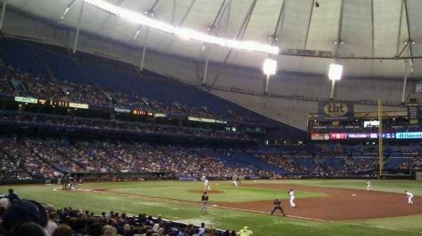 Tropicana Field, section: 126, row: U, seat: 10