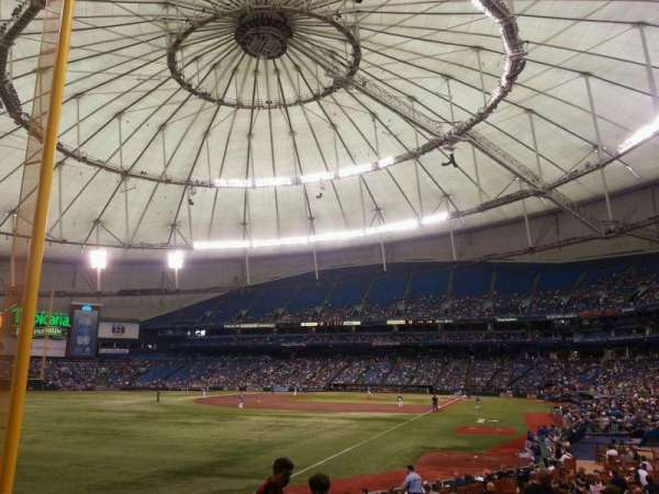 Tropicana Field, section: 137, row: W, seat: 6