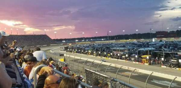 Darlington Raceway, section: Tyler Tower F, row: 5, seat: 17