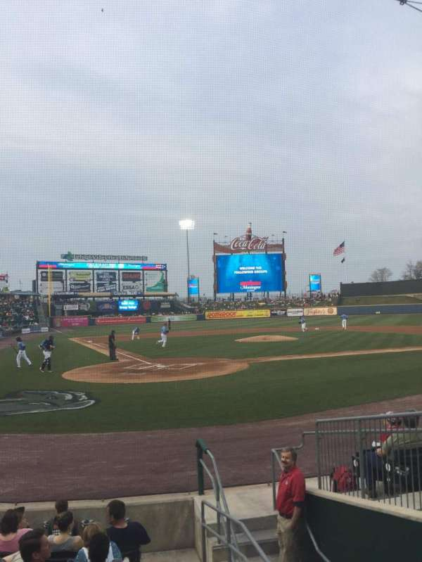 Coca-Cola Park, section: 110, row: J, seat: 6