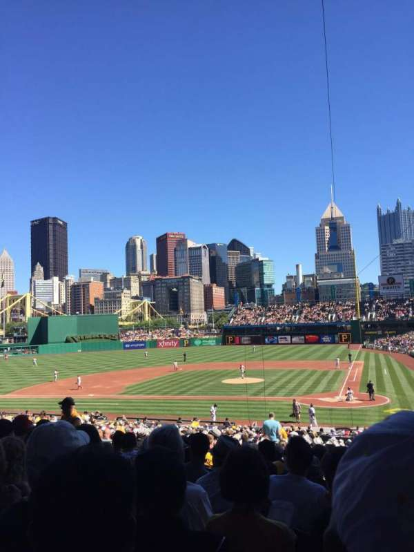 PNC Park, section: 119, row: Z, seat: 25