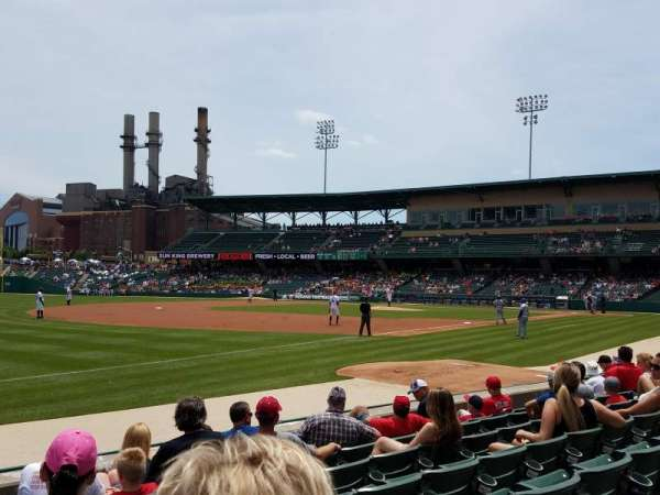 Victory Field, section: 105, row: G, seat: 23