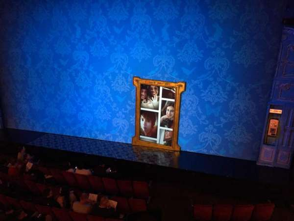 Walter Kerr Theatre, section: Mezzanine R, row: A, seat: 6