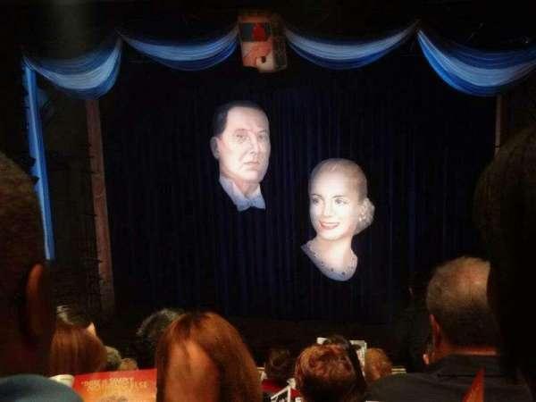 Marquis Theatre, section: Mezzanine C, row: K, seat: 118