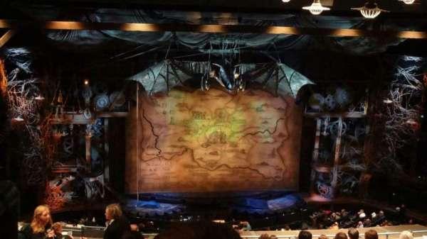 Gershwin Theatre, section: Rear Mezzanine C, row: L, seat: 101