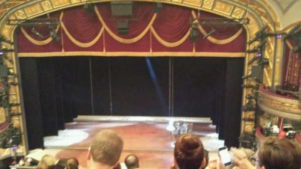 Richard Rodgers Theatre, section: Rear Mezzanine C, row: G, seat: 104