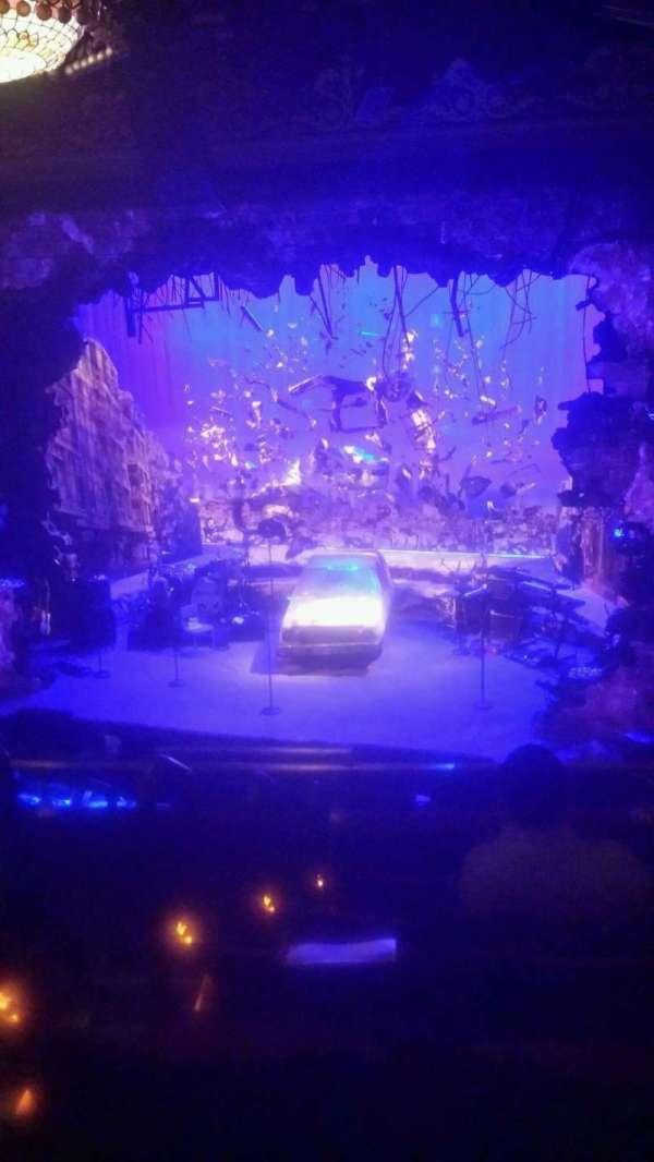 Belasco Theatre, section: Mezzanine R, row: F, seat: 4