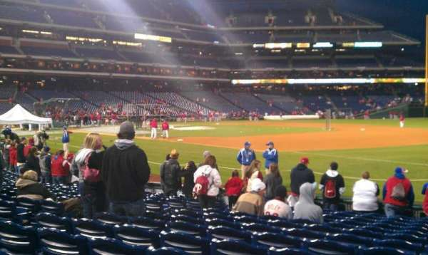 Citizens Bank Park, section: 112, row: 13, seat: 10