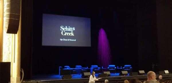 Paramount Theatre (Seattle), section: Main Floor 4, row: U, seat: 8