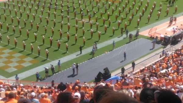 Neyland Stadium, section: X4, row: 50,, seat: 27 and 28